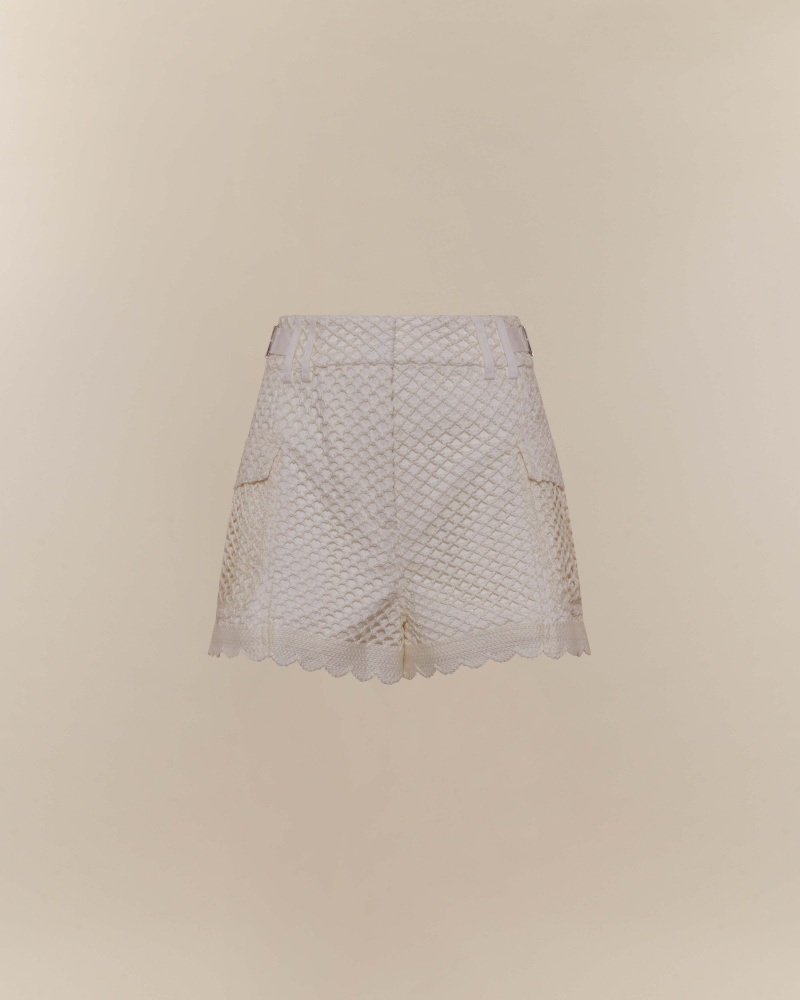SHORTS IN PIZZO CROCHET