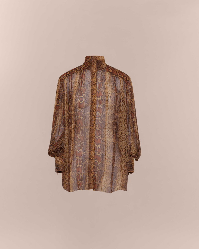 CAMICIA STAMPA SNAKE