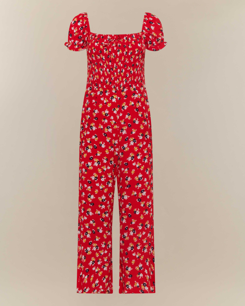 PLAYSUIT STAMPA FLOREALE
