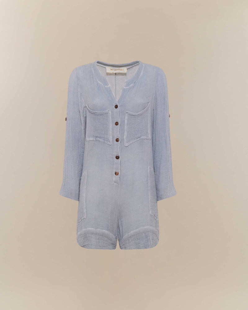 PLAYSUIT IN COTONE