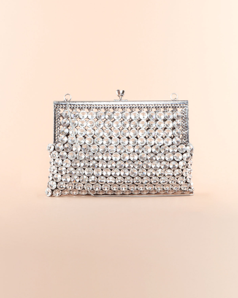 CRYSTALS CLUTCH