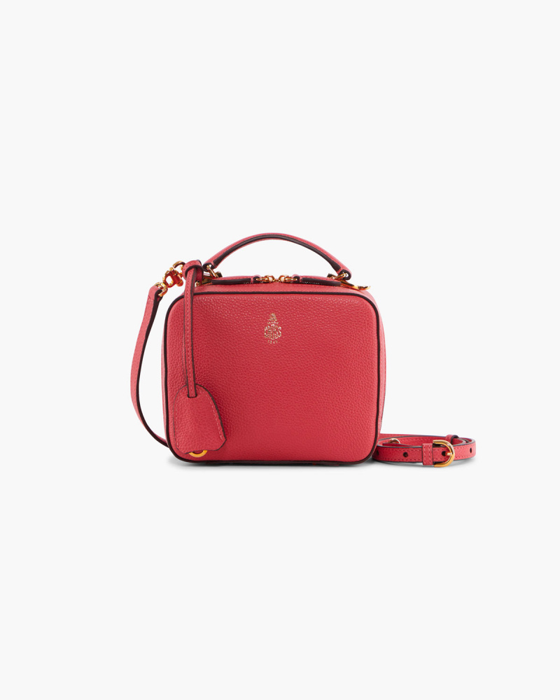 BORSA MINI IN PELLE CON ZIP