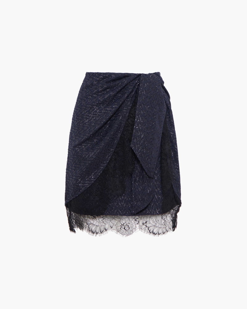MINI SKIRT WITH BOW