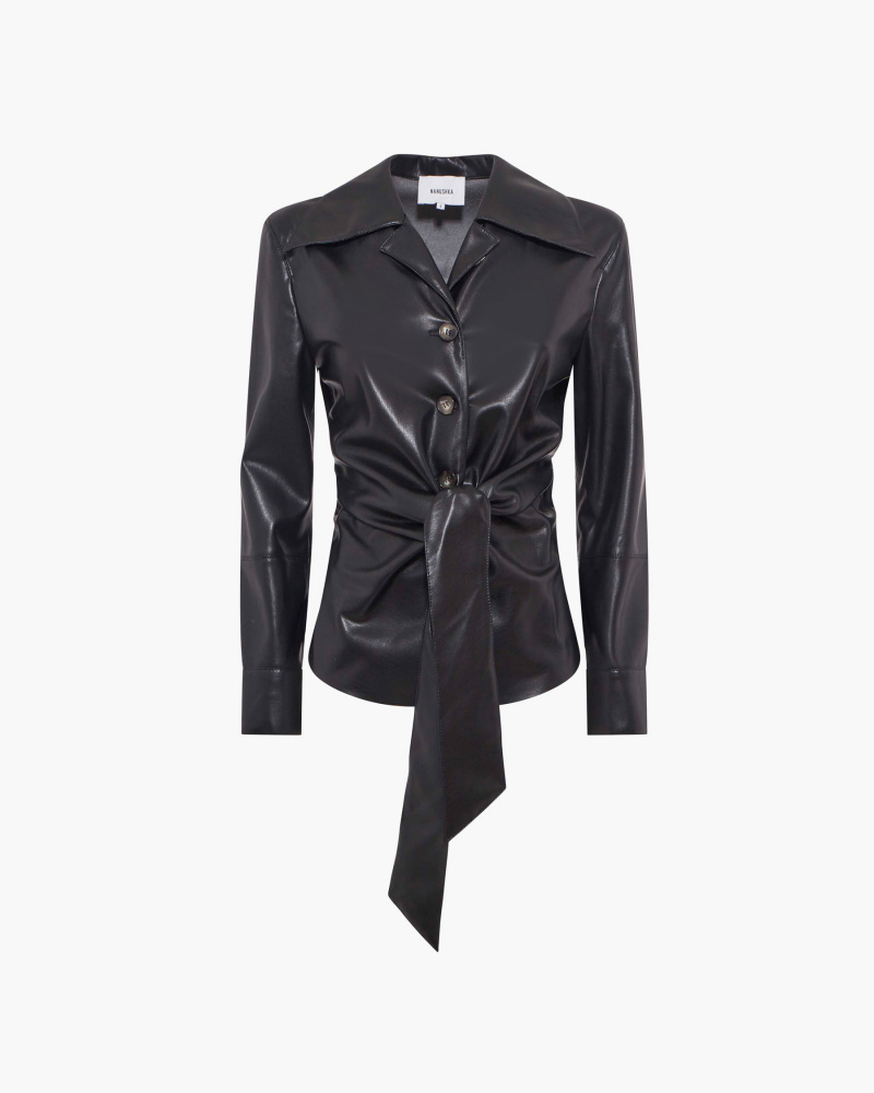 CAMICIA IN SIMILPELLE