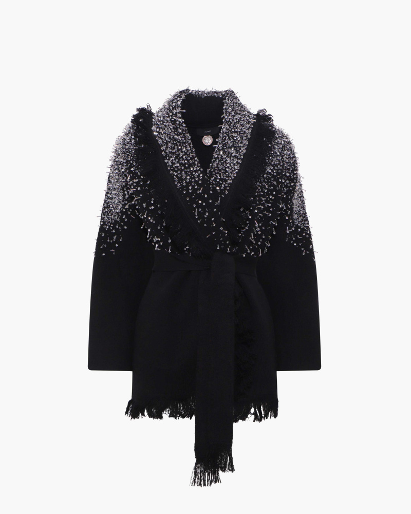 CARDIGAN WITH CRYSTALS