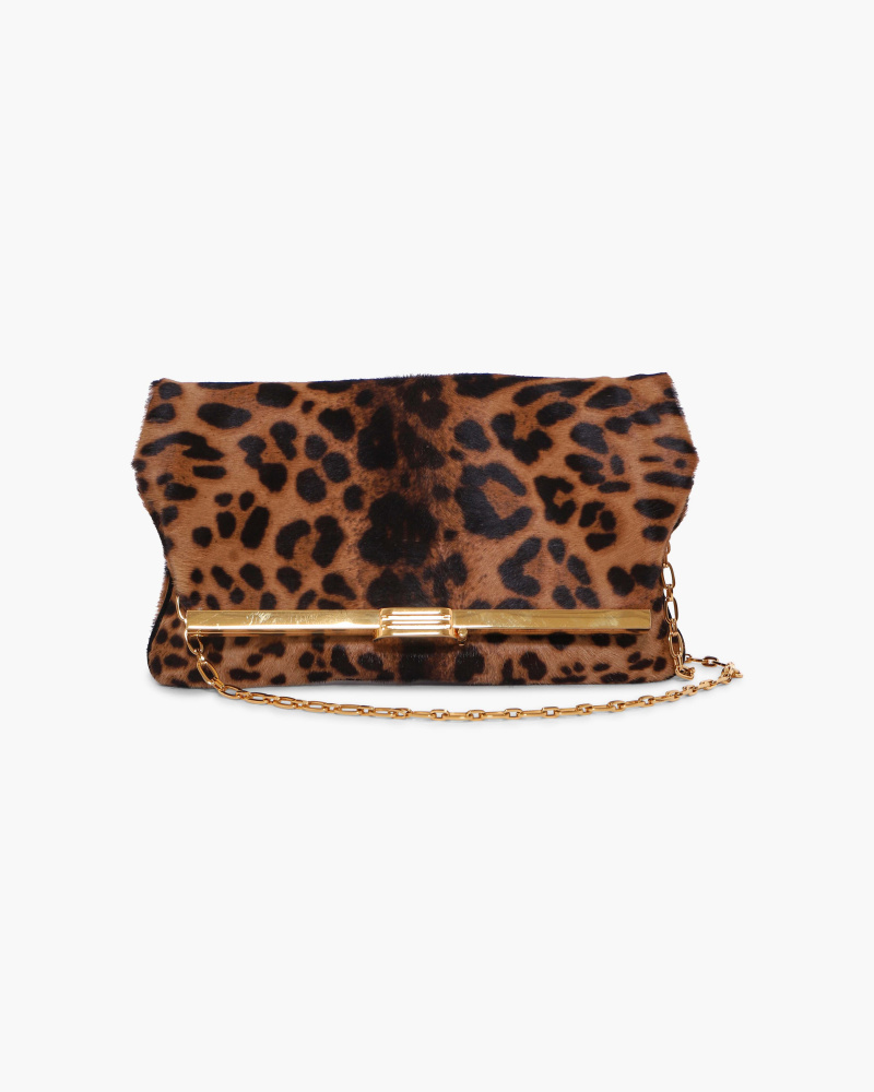 CLUTCH IN CAVALLINO LEOPARD