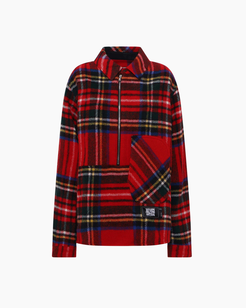 ENGLISH CHECK FLANNEL ANORAK