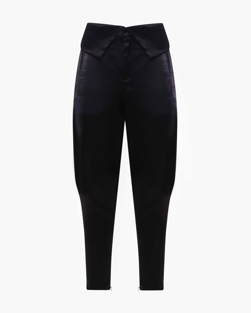 SATIN GAUCHO PANTS