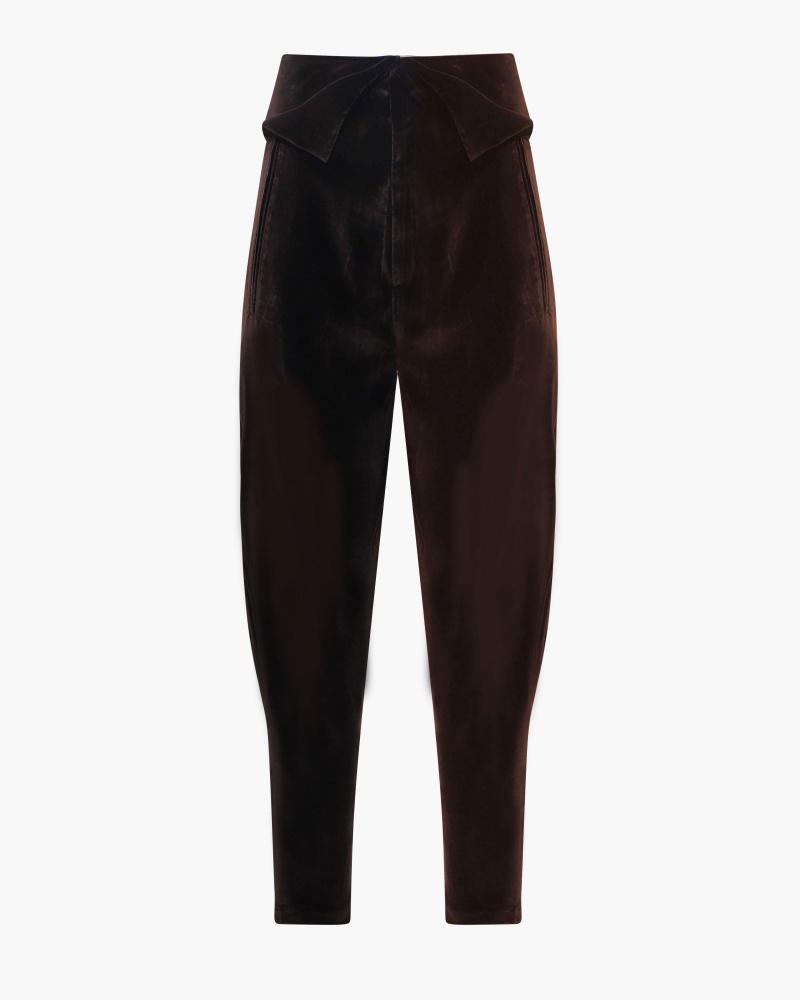 GAUCHO VELVET PANTS