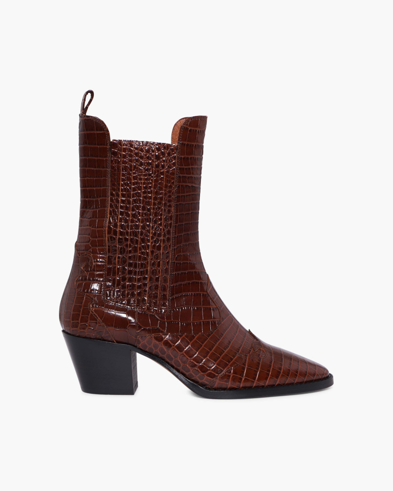 CHELSEA BOOTS STAMPA COCCO