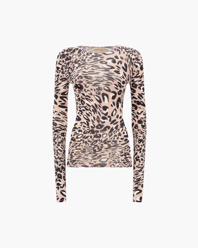 TOP STAMPA ANIMALIER