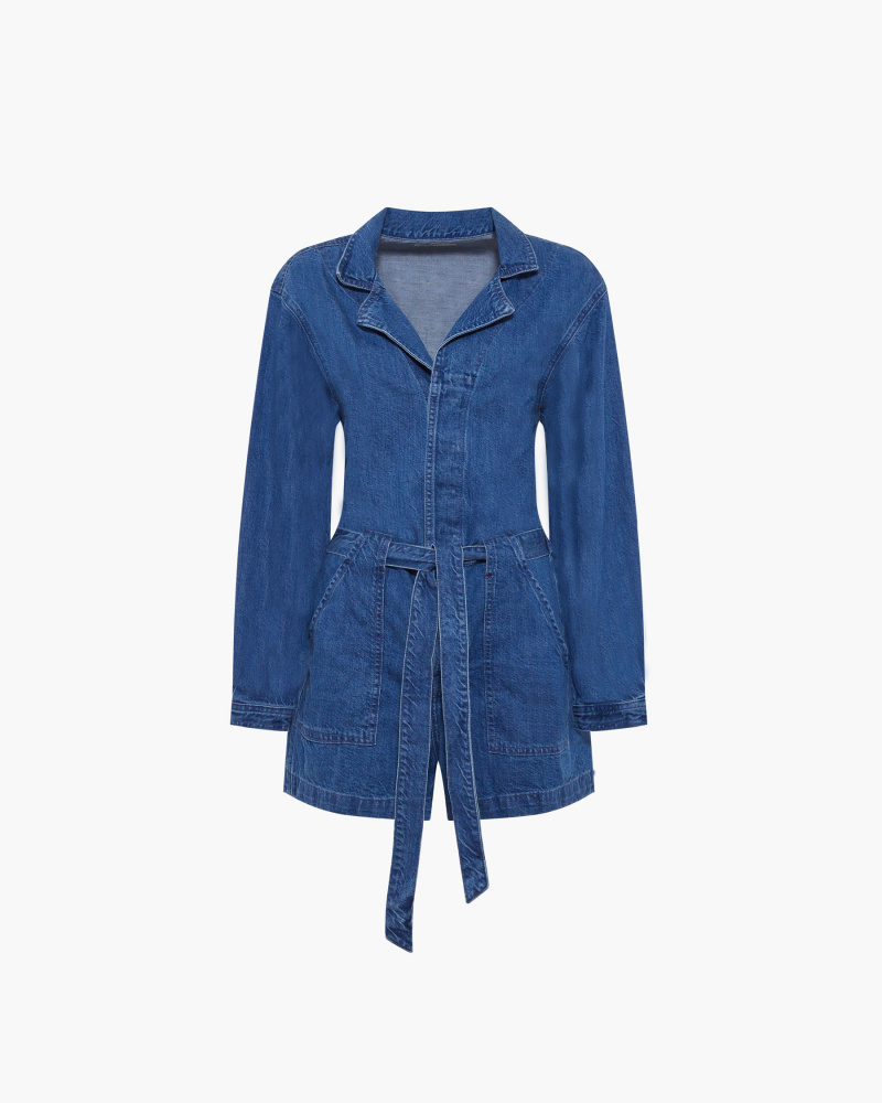PLAYSUIT IN DENIM