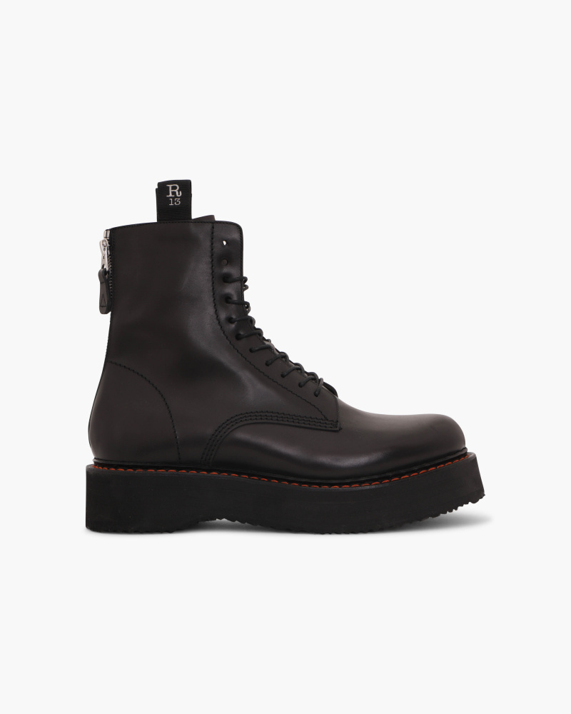 COMBAT BOOTS WITH PLATFORM