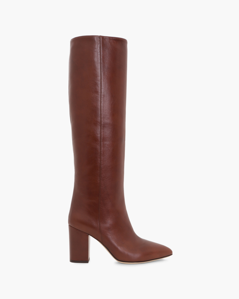 SMOOTH LEATHER BOOTS