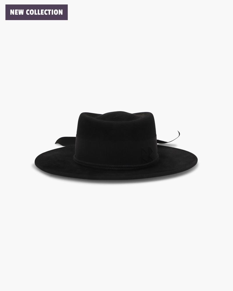 WIDE-BRIM HAT