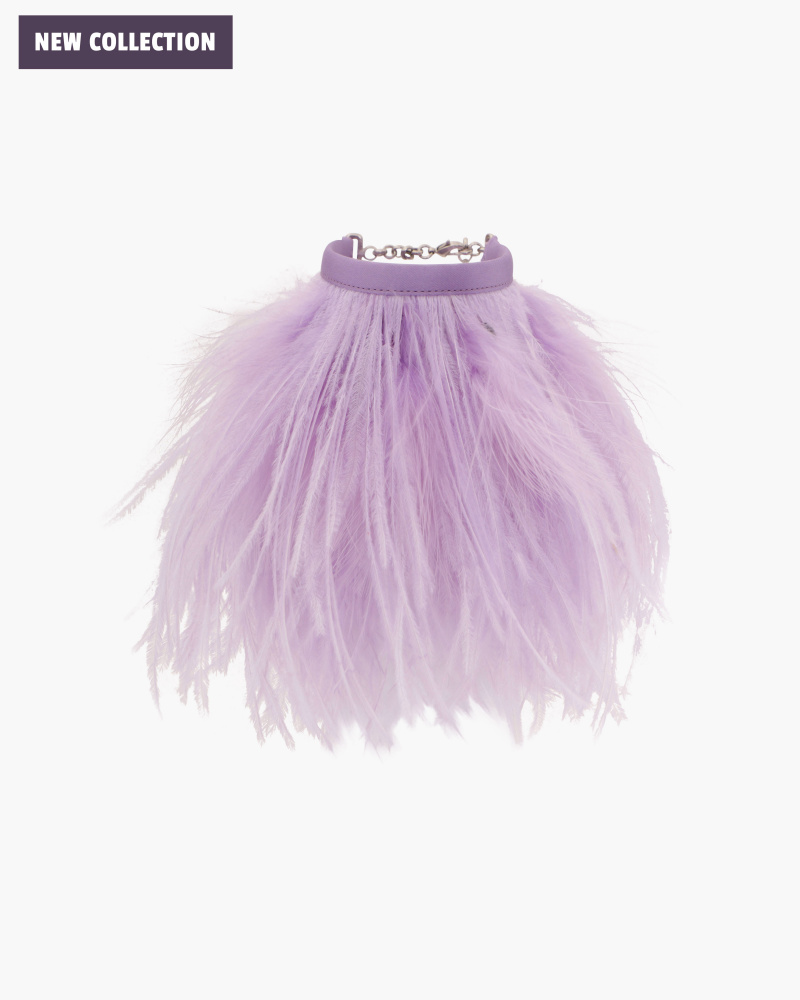 OSTRICH FEATHERS ANKLET