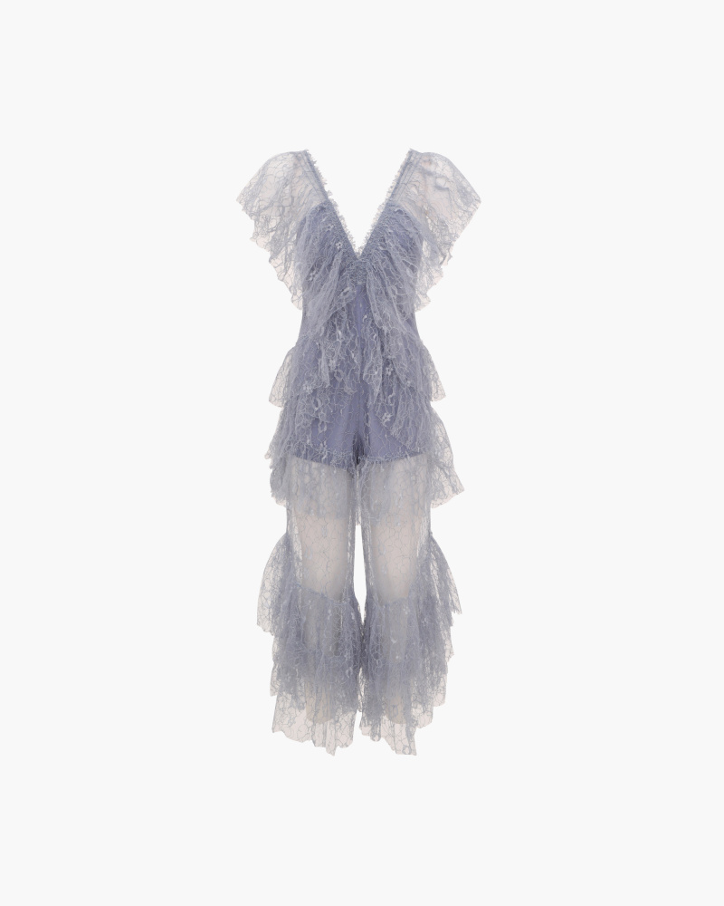 PLAYSUIT IN PIZZO