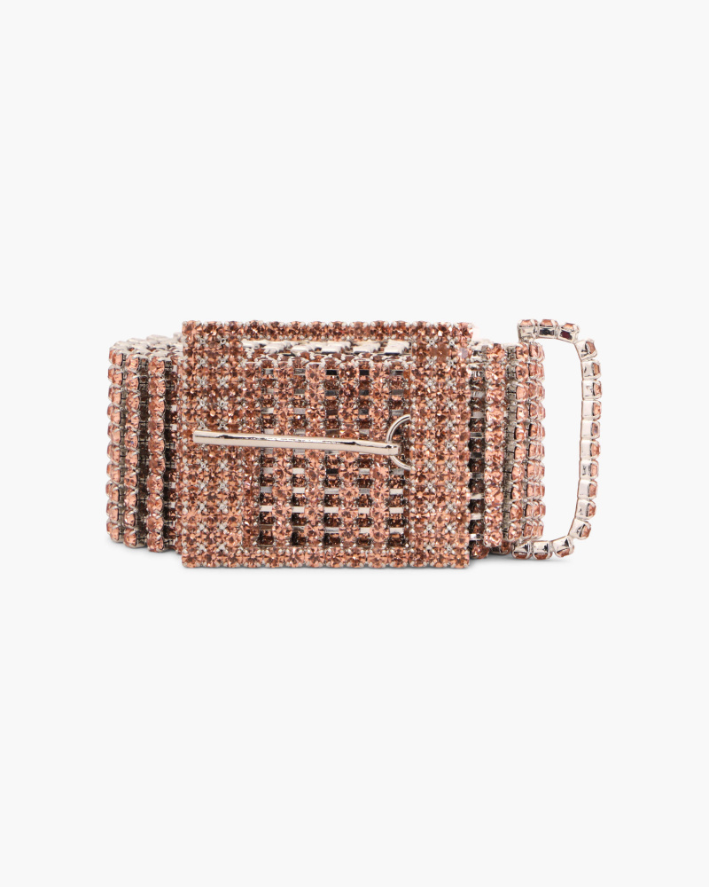 BELT WITH CRYSTALS