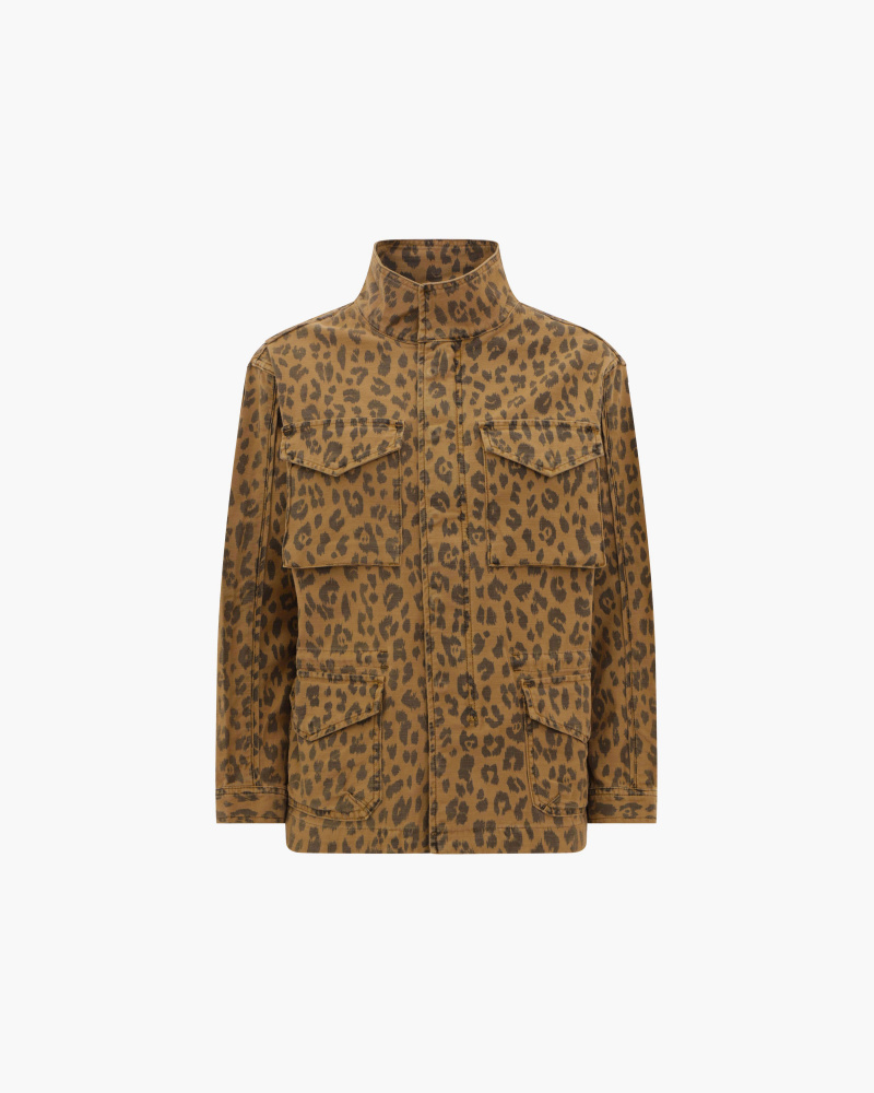 GIACCA STAMPA LEOPARD