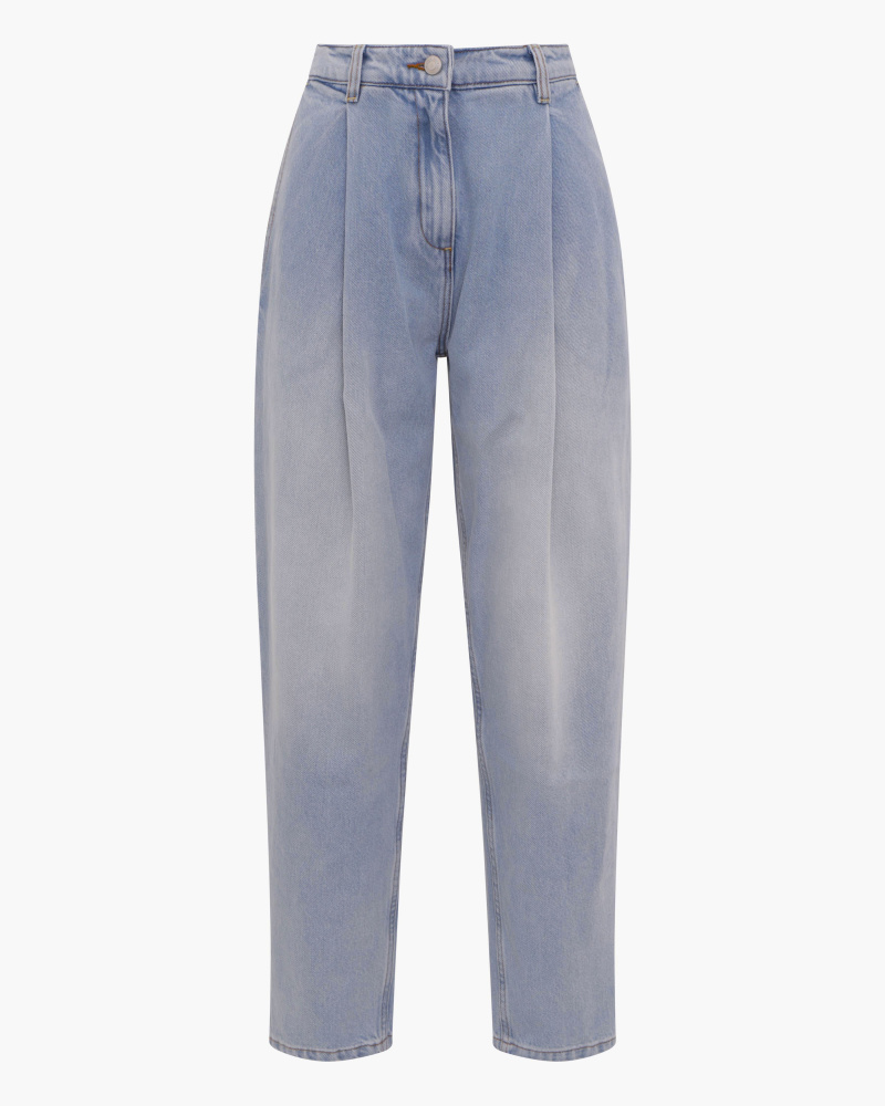 WIDE-LEG TAPERED JEANS