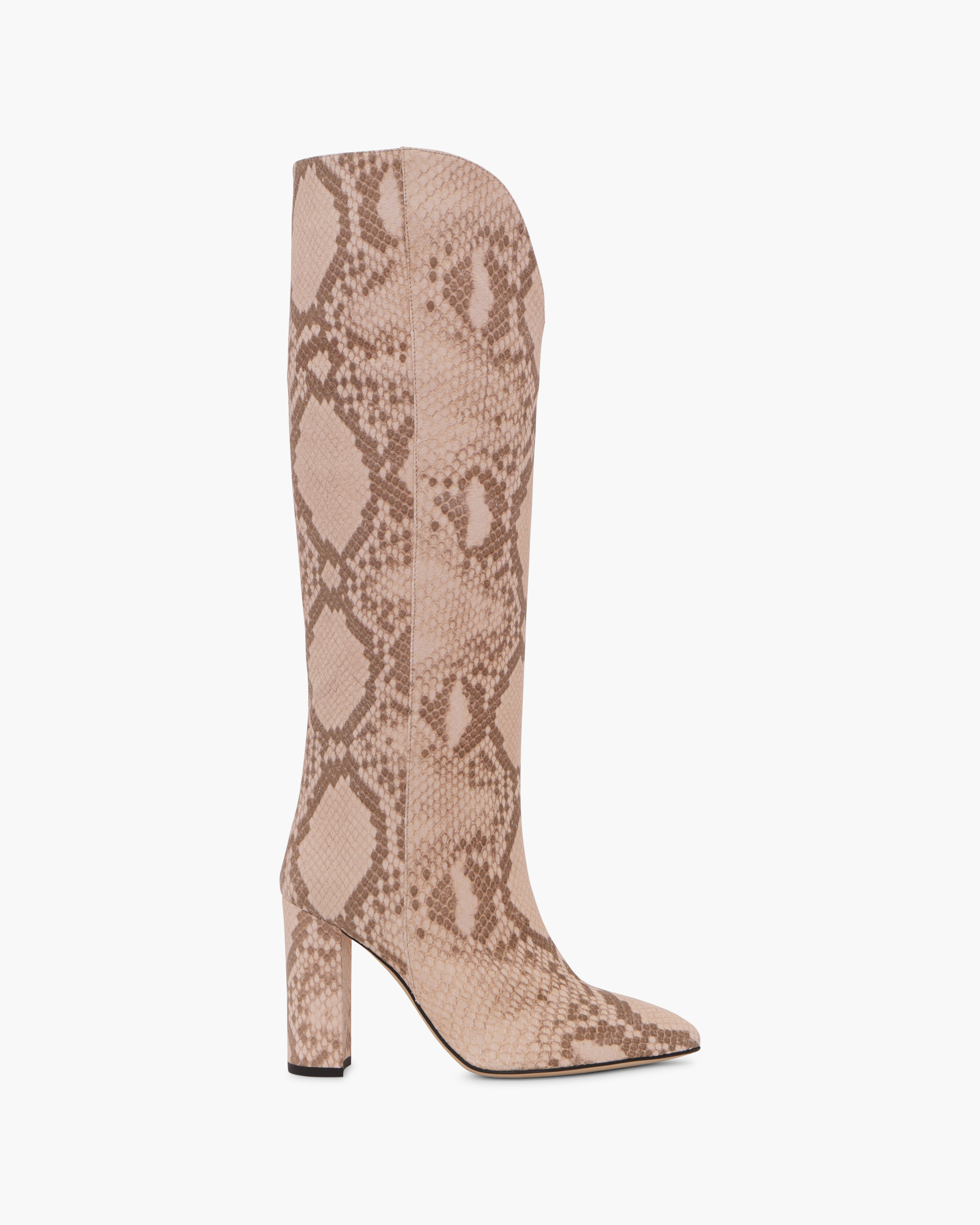FADED SNAKE EMBOSSED BOOTS