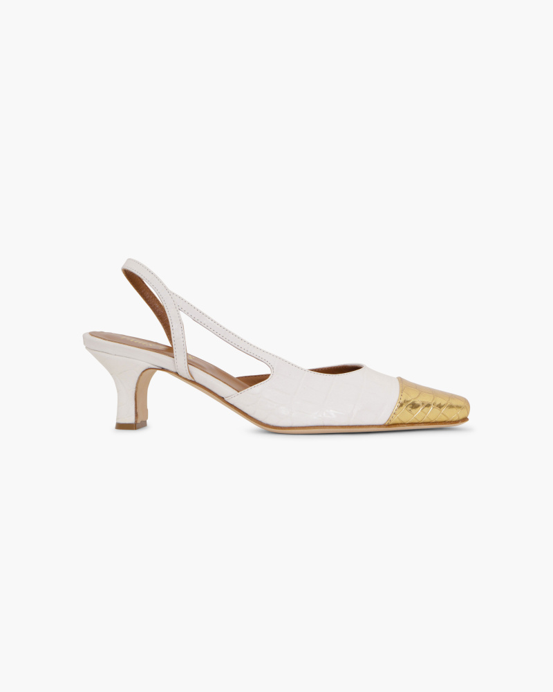 SLINGBACK STAMPA COCCO