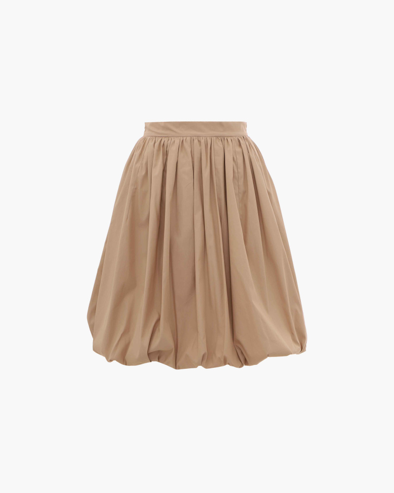 MIDI BALLOON SKIRT