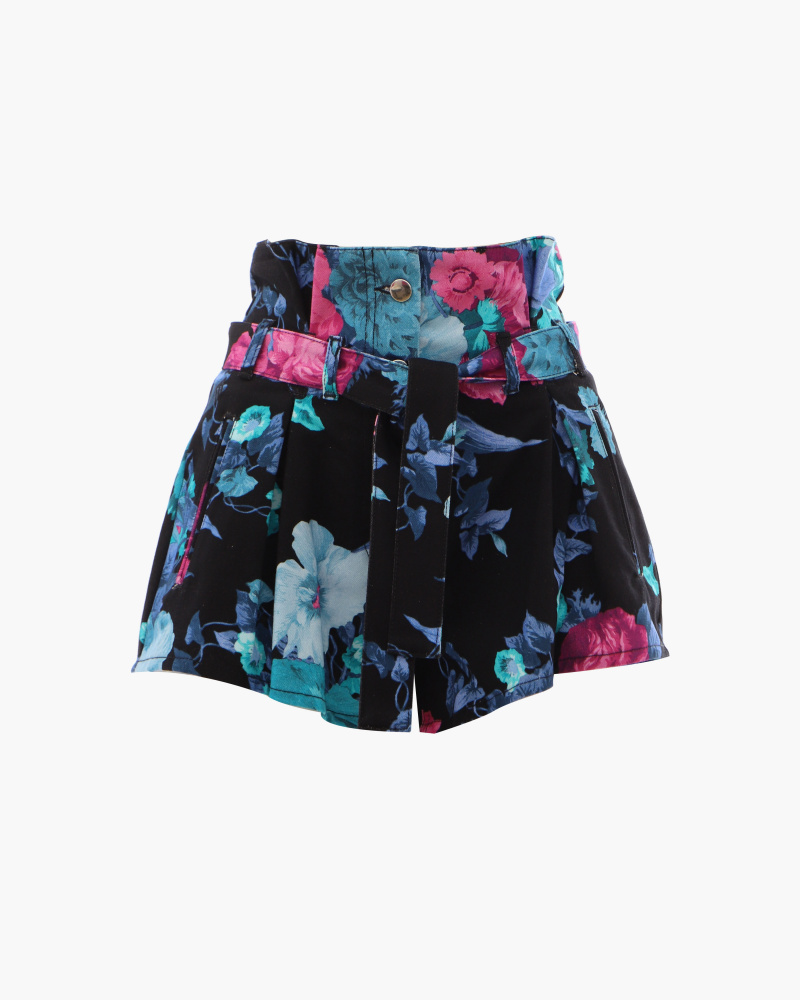 SHORTS STAMPA FLOREALE