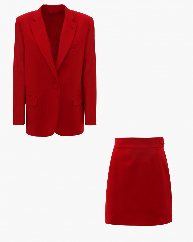 SUIT ROSSO