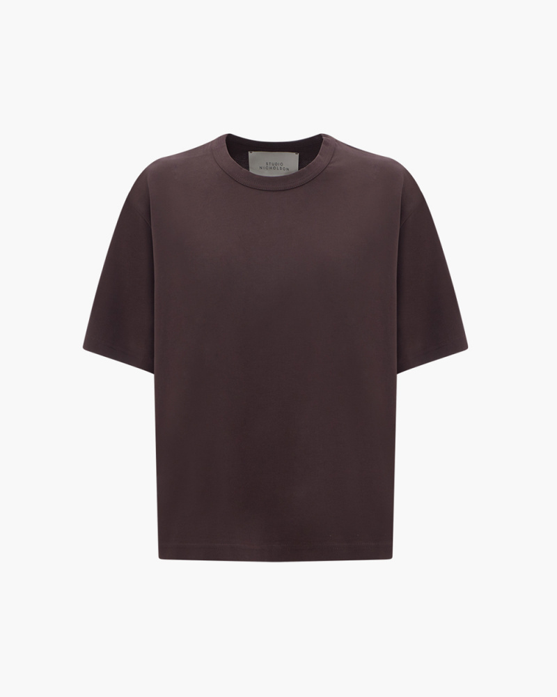 T-SHIRT BOXY IN COTONE