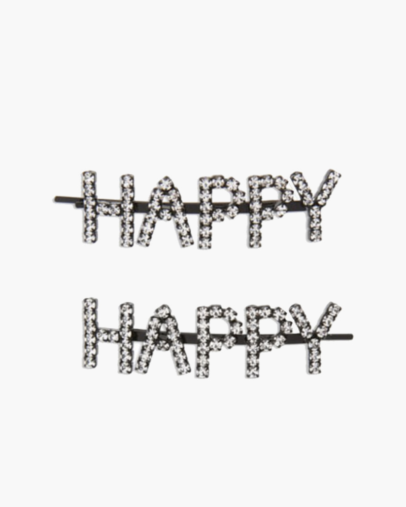 HAPPY HAIR PINS