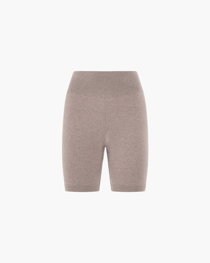 BIKER SHORTS IN CASHMERE