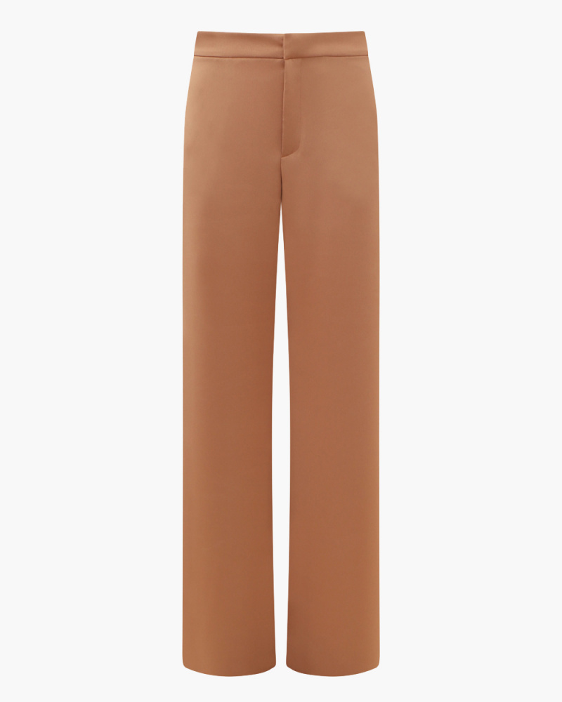 PANTALONI GIGI IN SATIN