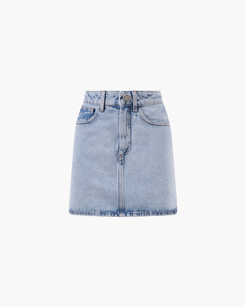 GONNA MINI IN DENIM