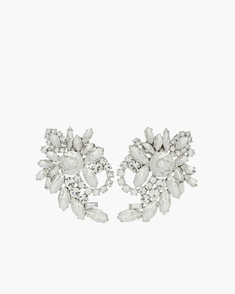 CLIP EARRINGS WITH CRYSTAL
