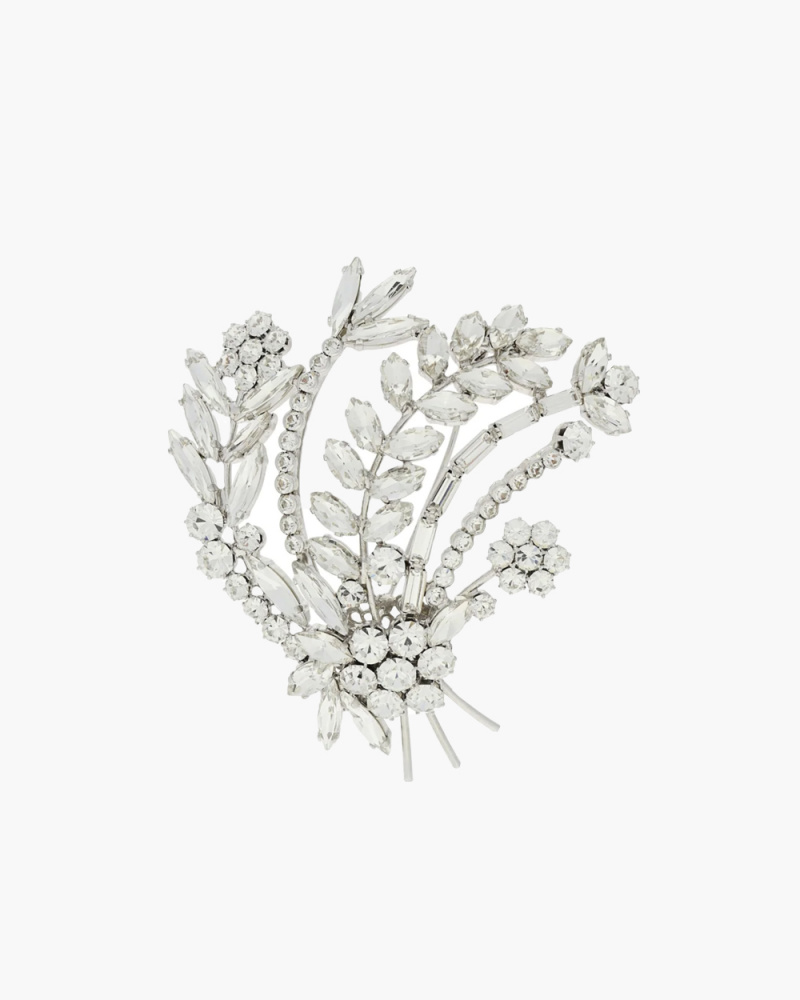 BOUQUET CRYSTAL BROOCH