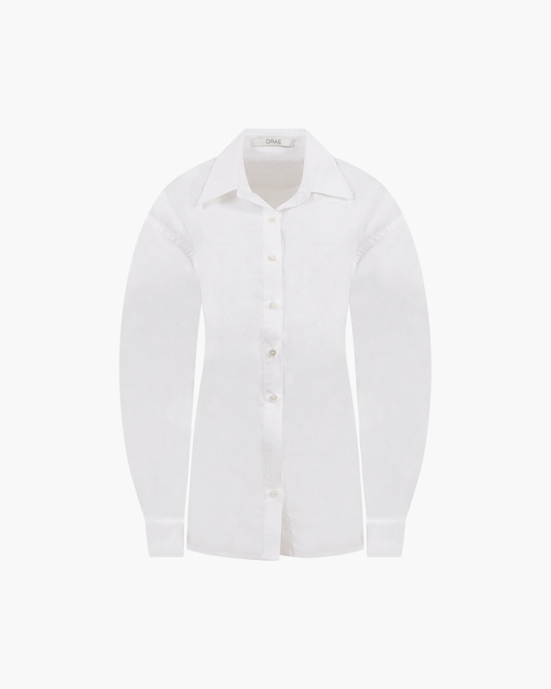 SHIRT WITH ELASTIC DETAIL...