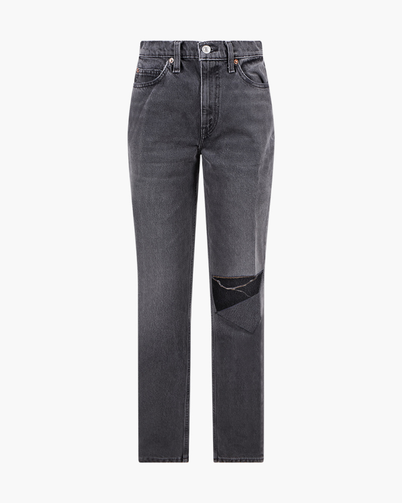 70S STRAIGHT-LE JEANS