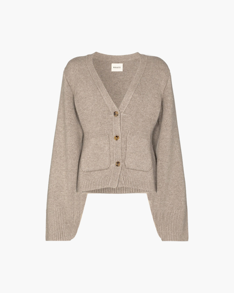 THE SCARLET CASHMERE CARDIGAN