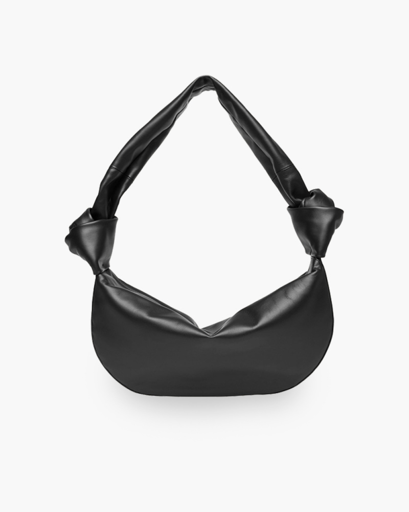 DOUBLE KNOT SHOULDER BAG