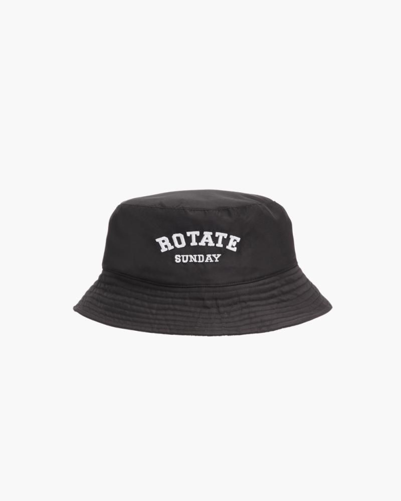 BLACK BIANCA BUCKET HAT