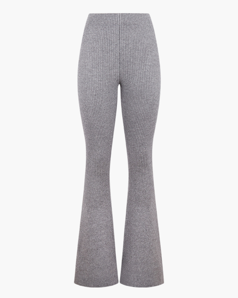 KNIT SIENNA FLARED PANTS