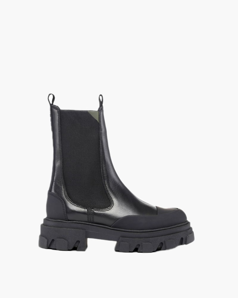 CHELSEA BOOTS IN GOMMA...