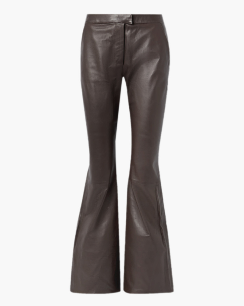 LIN LEATHER PANTS