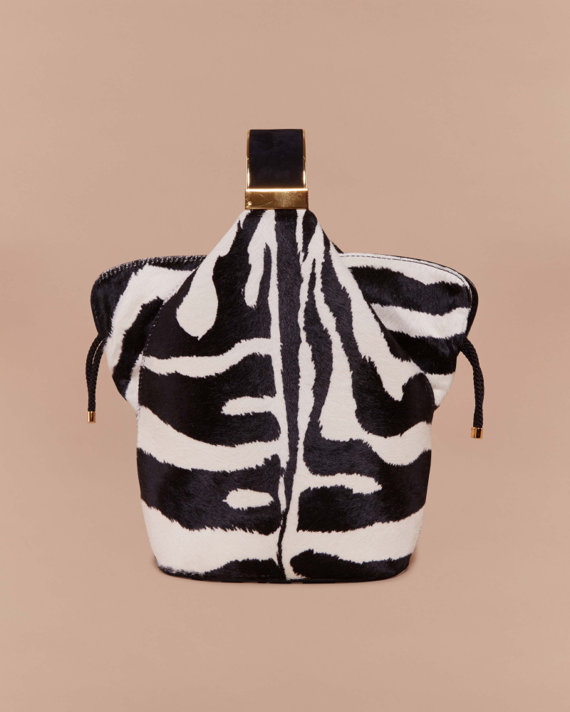 BRACELET BAG IN ZEBRA...
