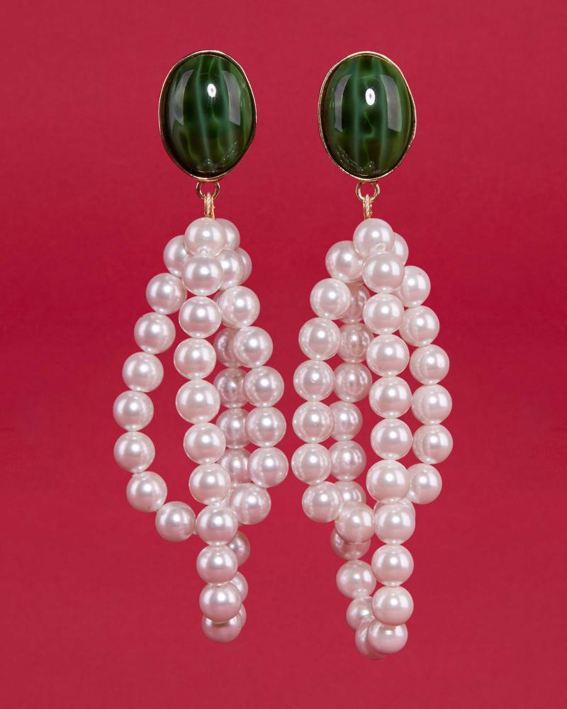 Windflower earrings